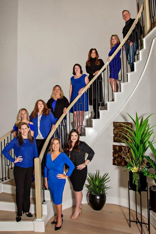 hayes-team-stairs